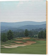 Musket Ridge Golf - In The Foothills Of The Catoctin Mountains - Par 5 - 10th Wood Print