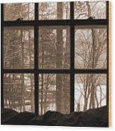 Muskoka Winter 7 Wood Print