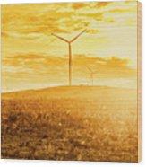 Musselroe Wind Farm Wood Print