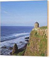 Mussenden Temple, Portstewart, Co Wood Print