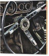 Mustang 330 Wood Print