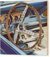 Mustang Convertible Wood Print