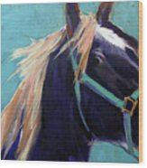 Mustang Sally Wood Print
