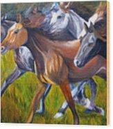 Mustang Spirit Wood Print