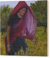 Mustard Fields Of India Wood Print