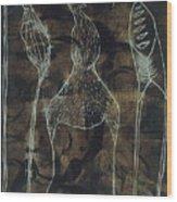 Mutation 3 Wood Print