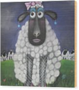 Mutton Dressed As Lamb Wood Print