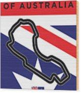 My 2017 Grand Prix Of Australia Minimal Poster Wood Print