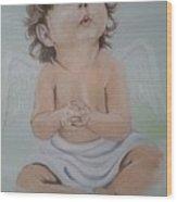 My Angel Wood Print