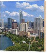 My Austin Skyline Wood Print