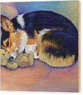 My Baby Pembroke Welsh Corgi Wood Print