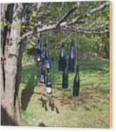 My Bottle Tree - Photograph Wood Print