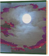 My Dream Moon Moonshine Sky Wood Print