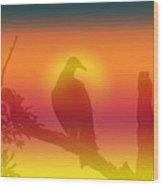 My Favorite Bird Wood Print