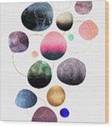 My Favorite Pebbles Wood Print