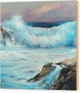 My Favorite Seascape Wood Print
