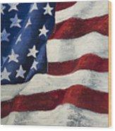 My Flag Wood Print