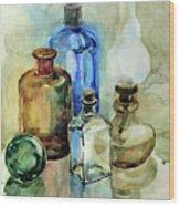 My Glass Collection II Wood Print