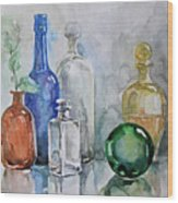 My Glass Collection IIi Wood Print
