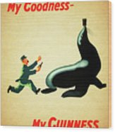 My Goodness My Guinness 1 Wood Print
