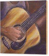 My Guitar Wood Print