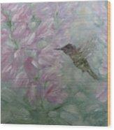My Hummingbird Wood Print