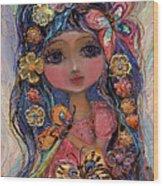 My Little Fairy Penelope Wood Print
