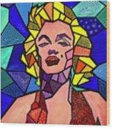 My Marilyn Wood Print