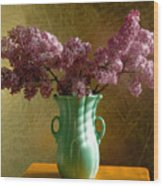 My Mother's Lilacs Wood Print