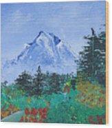 My Mountain Wonder Wood Print by Jera Sky