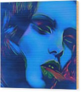 My Name Is Ice Cold Lady Wood Print