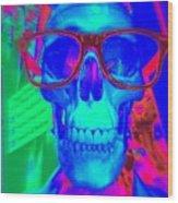 My New Glasses Wood Print