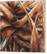My Roots Wood Print