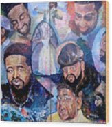 My Song Tribute To The Late Gerald Levert Wood Print