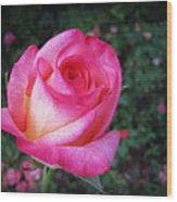 My Special Rose Wood Print