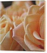 My Sweet Roses Wood Print