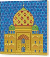 My Taj Mahal Wood Print