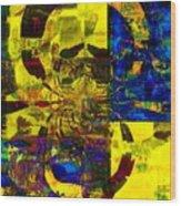 My Theme In Glory Wood Print