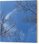 My Trees No.13 Wood Print