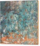 My Turquoise Wood Print