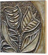 Vintaje Tile With Calas  Wood Print