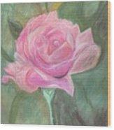 My Wild Irish Rose Wood Print