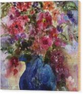 My Wildflowers Wood Print