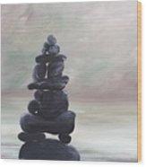 My Zen Wood Print