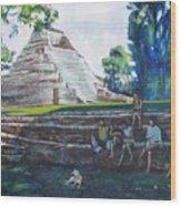 Myan Temple Wood Print