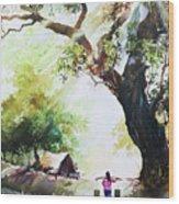 Myanmar Custom_03 Wood Print