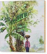 Myanmar Custom_05 Wood Print
