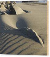 Myers Creek Beach Oregon 1 Wood Print