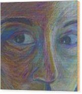 Mylar Portrait Wood Print