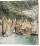 Mylopotamos Beach, Pelion, Greece Wood Print